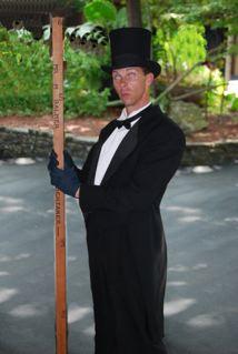 'Mr. M. Balmer' - undertaker
