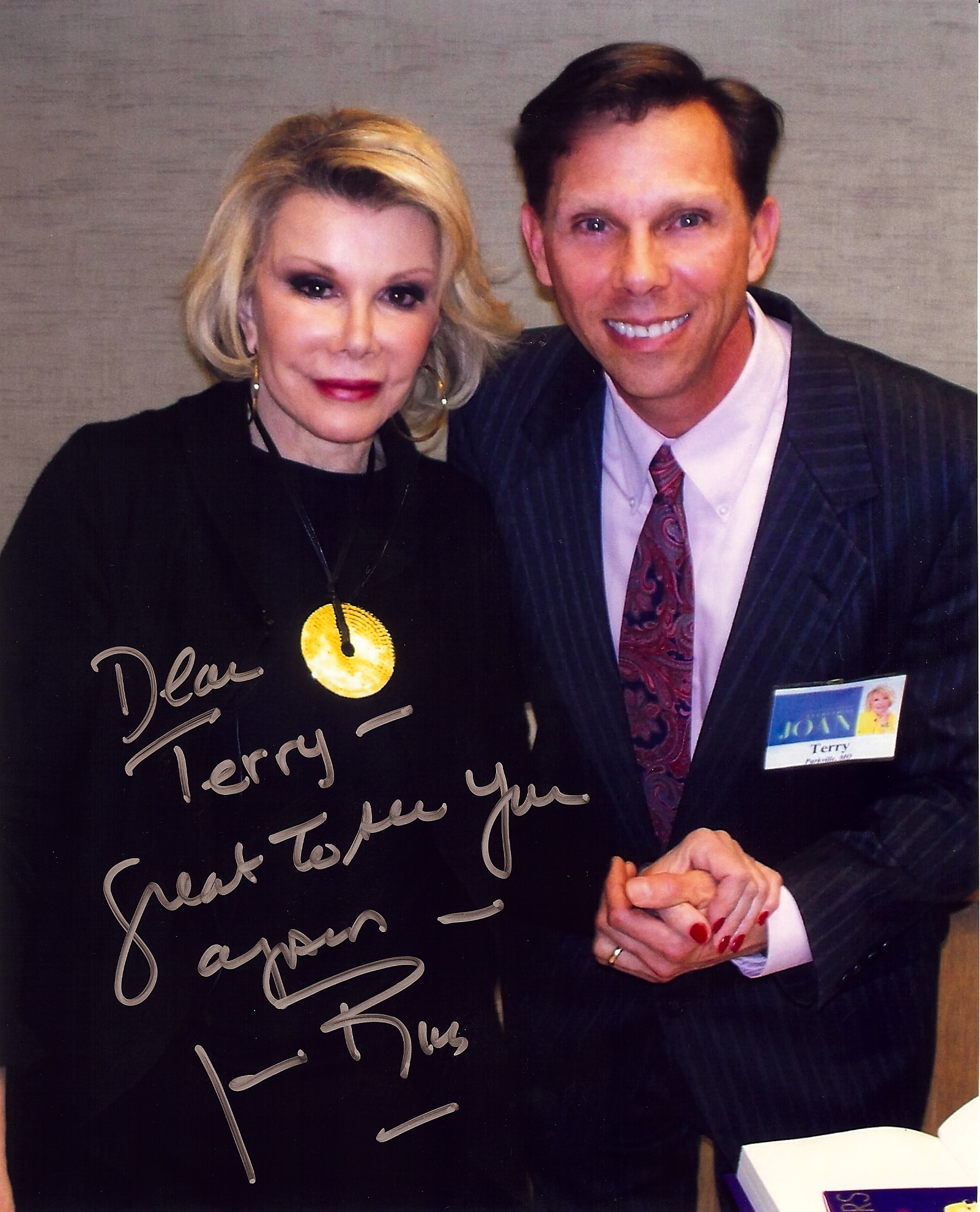 Homer lee blog archive happy december what already joan signed dear terry great to see you again joan rivers spiritdancerdesigns Image collections