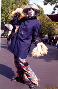 Ickibod 'Icky' the scarecrow