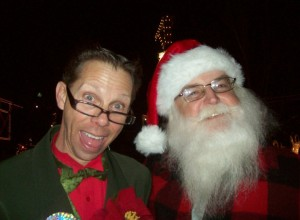 'Clarence Peabody' & Santa Claus - 'Breakfast with Santa - Santa's Missing' show at Bass Pro