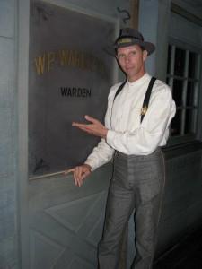 'W.P. Warburton' the warden of Silver Dollar City