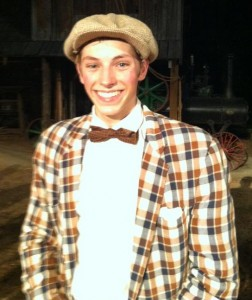 Evan Sanders as 'Ollie'