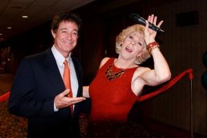 Barry Williams (AKA 'Greg Brady')  Terry Wayne Sanders as 'Joan Rivers' - Party With The Stars