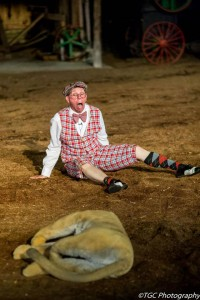 Me as 'Ollie' in the 2014 Shepherd of the Hills play