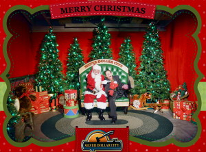 Santa & Clarence