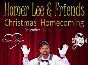 Homer Lee & Friends ~ Christmas Homecoming Sunday, December 11th 3 PM at Hamners' Variety Theatre