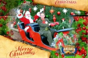Santa & 'Clarence'