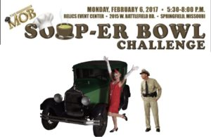 MOB SOUP-ER BOWL FLYER for Barney 2017