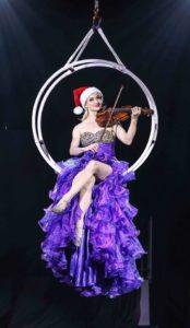 Janice Martin - Aerial violinist